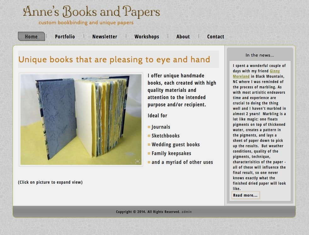 Anne's Books & Papers